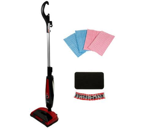 haan floor steamer pads haan total floor steamer sweeper w swivel 4