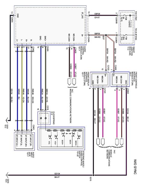 2012 fusion radio wiring diagram - 28 images - 2011 ford fusion ... 2015 ford focus radio wiring diagram Wiring Diagram