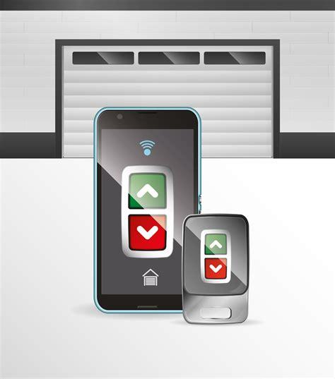 use phone as garage door opener 3 benefits of smartphone operated garage door openers