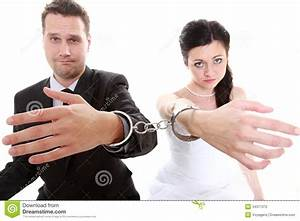Relationship Concept Couple In Divorce Crisis Stock ...