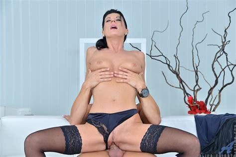Gorgeous Milf Celine Noiret Gets Fucked Hard By Huge Cock