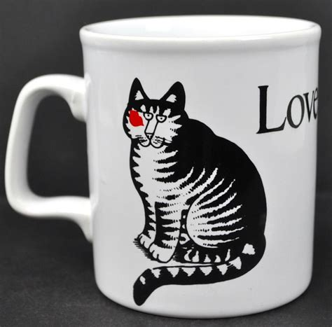 We supply nespresso compatible capsules, single origin coffee and coffee beans blends. Love a Cat Cup Kiss B Kliban Vintage Coffee Mug Tea Made ...