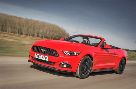 ford mustang 2 3 2016 2016 ford mustang 2 3 ecoboost convertible review review