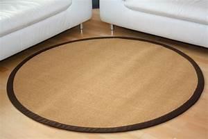 Sisal Teppich Rund 200 : sisalteppich manaus natur mit stoffbord re 066 teppiche sisal teppiche mit bord re ~ Bigdaddyawards.com Haus und Dekorationen