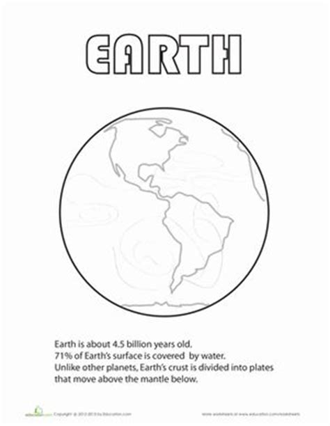 layers of the venus worksheet 66 best images about 1st grade science on