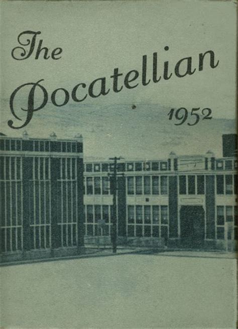 online high school yearbooks 1952 pocatello high school yearbook online pocatello id