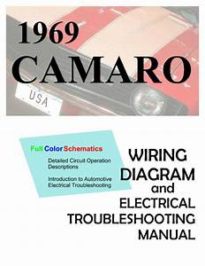 1969 69 Camaro Troubleshooting Manual And Full Color