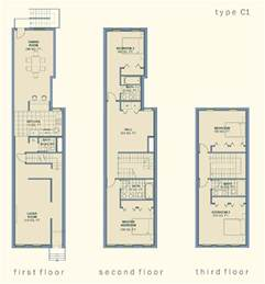 three story house plans community architect anatomy of the baltimore rowhouse
