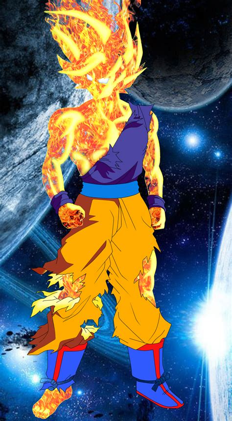 Goku Ssj God 2 By Toceda On Deviantart