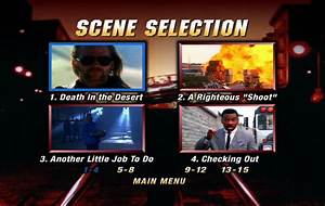 Another 48 Hrs. (1990) - DVD Movie Menus