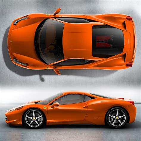 ferrari  italia orange  speedlux
