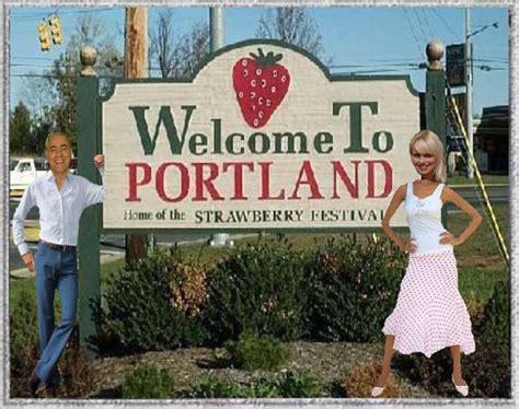 Willkommen In Portland/ Maine