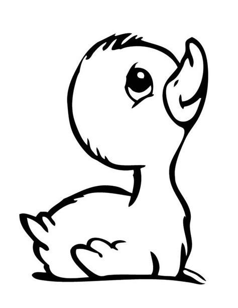 duck drawing ideas  pinterest baby cartoon