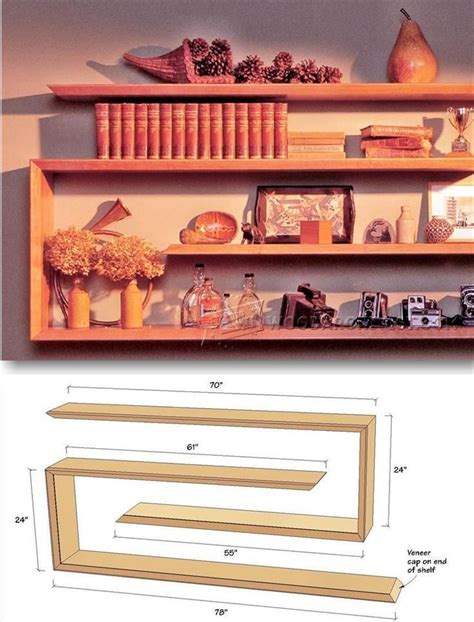 Shelving Projects by 25 Best Ideas About Wall Shelving On Wall