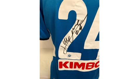 Social security numbers serves as ultimate consignee numbers for individuals. Insigne's Official Napoli Signed Shirt, 2019/20 - CharityStars