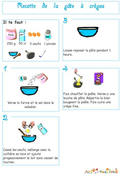 atelier cuisine pour enfants recettes des desserts illustrés pour enfant sur tête à modeler