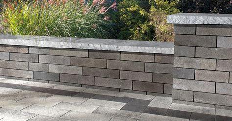 lineo wall walls verticals pavers retaining walls