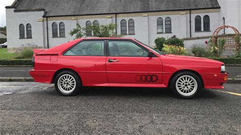 Audi Quattro by Pristine Audi Quattro Turbo Targets 50k At Auction