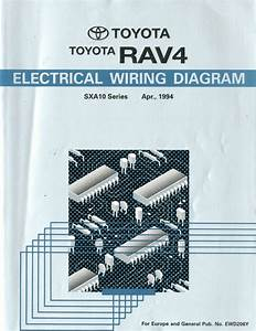 1994 Toyota Rav4 Electrical Wiring Diagram Workshop Manual English