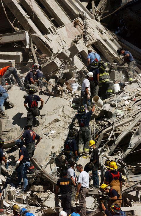 rescue  recovery effort   september  attacks