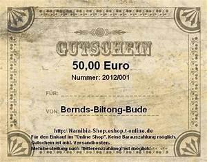 Gutschein T Online Shop : gutschein einkaufsgutschein 50 namibia shop ~ Orissabook.com Haus und Dekorationen