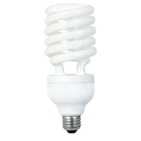 ecosmart light bulbs ecosmart 150w equivalent soft white spiral cfl light bulb