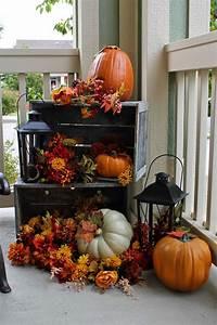 85, Pretty, Autumn, Porch, D, U00e9cor, Ideas