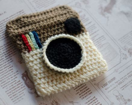 crochet instagram purse  knit  crochet pouch sewing