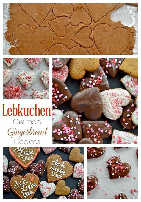 lebkuchen german gingerbread cookies recipe