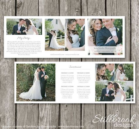 Trifold Template Album Ideas by Price Guide Accordion Card Wedding Trifold Pricing Sheet