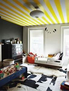 Decke Mit Rollputz Streichen : 62 kreative w nde streichen ideen interessante techniken ~ Michelbontemps.com Haus und Dekorationen