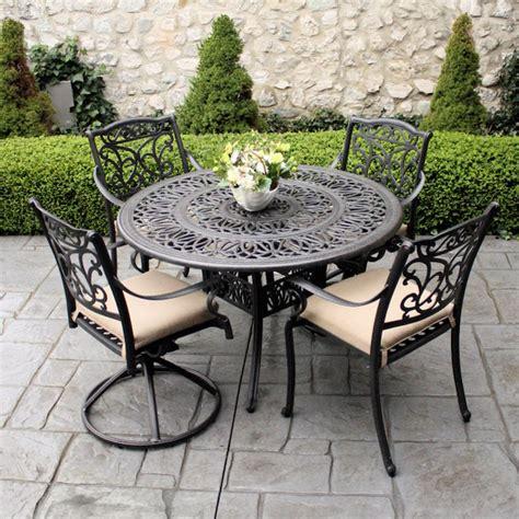 mobilier de jardin en fer forg 233 bonne mine et entretien