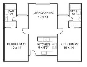 two bedroom two bath house plans stonehaven