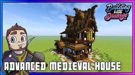 minecraft building  sausage advanced medieval