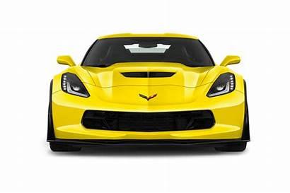 Corvette Chevrolet Clipart Yellow C7 C8 Cars