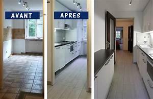 renovation cuisine bois rnovation de cuisine en bois With renovation cuisine bois avant apres