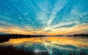 1440x900 Windows 7 lake desktop PC and Mac wallpaper