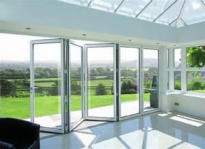 aluminium bifold doors elite windows conservatories With bifold doors with windows