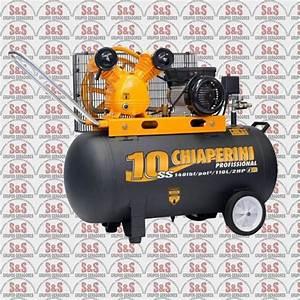 Compressor De Ar 10 Ss110l - Motor Eletrico