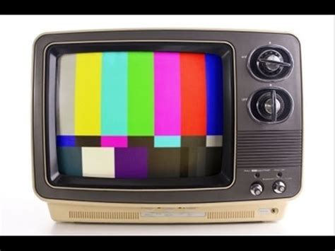 color tv inventor tv no signal effect 1