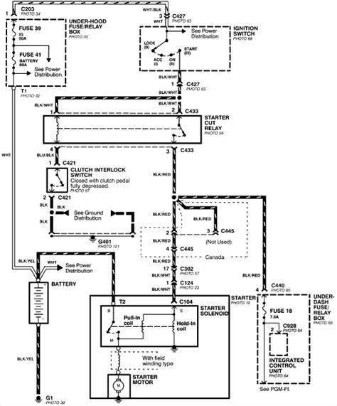 Integra Main Relay Fuse Location Wiring Diagram