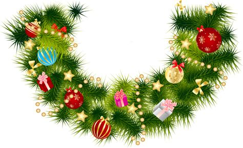 free garland transparent background free clip