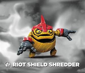 Riot Shield Shredder - Villain - SkylanderNutts