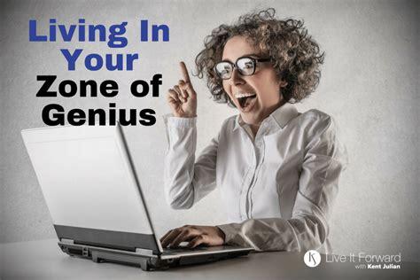 Copridivano Genius Living : Living In Your Zone Of Genius