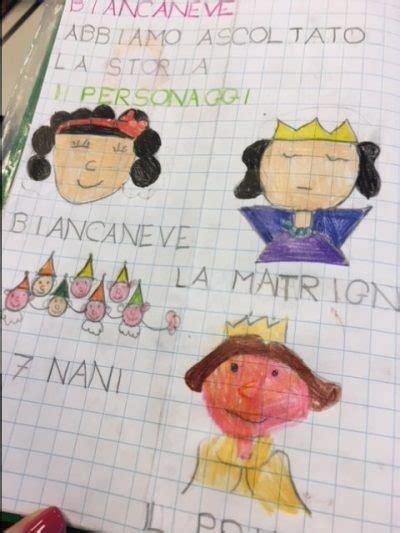 Biancaneve Testo by Biancaneve Comprensione Testo Maestra
