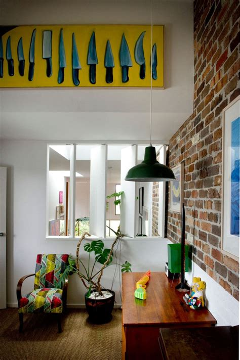 eclectic sydney house presents colorful  quirky interiors