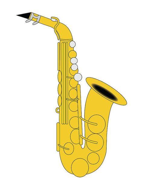 Saxophone Clipart Saxophone Clip Alto Saxophone Illustration Saxophone