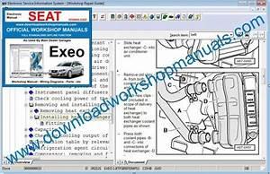 Seat Exeo Workshop Repair Manual