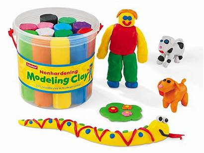 Clay Modeling Bucket Crafts Lakeshore Learning Clipart