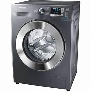 Samsung Wf80f5e5u4x A    8kg 1400 Spin Washing Machine In Graphite Silver New
